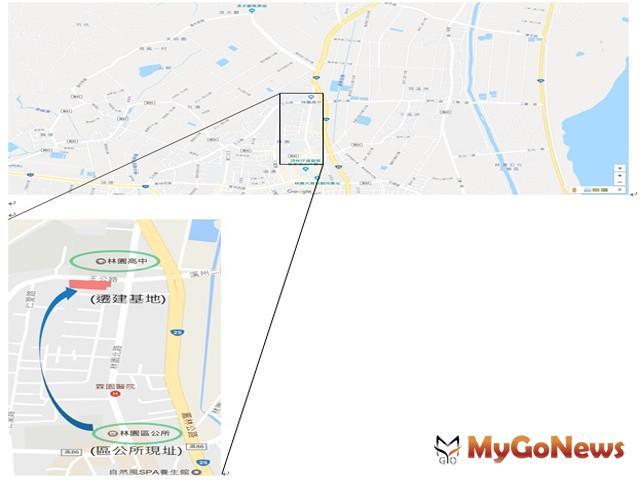 高雄市府:10月林園將擁有新行政中心(圖:高雄市政府)