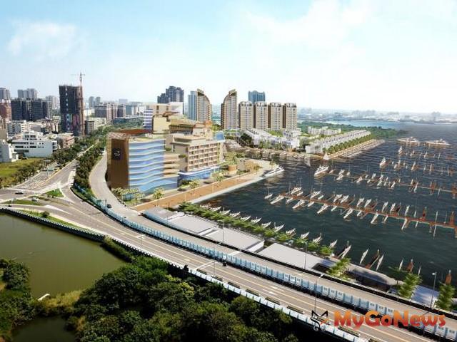 安平港環境影響差異分析報告通過,亞果國際遊艇城投資案相關工程全面啟動(圖:台南市政府)