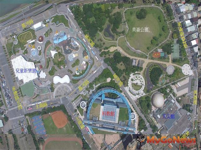 士林利多 縫合生態綠廊,創造韌性、科學之親子休憩園區(圖:台北市政府)
