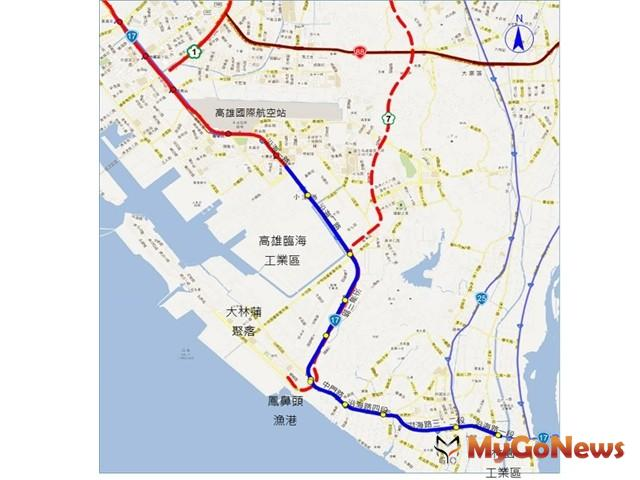 高雄市政府積極推動高雄捷運延伸小港林園線(圖:高雄市政府)