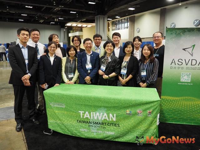 北市府前進華府行銷智慧城市經驗,號召國際夥伴加入GO SMART(圖:台北市政府)