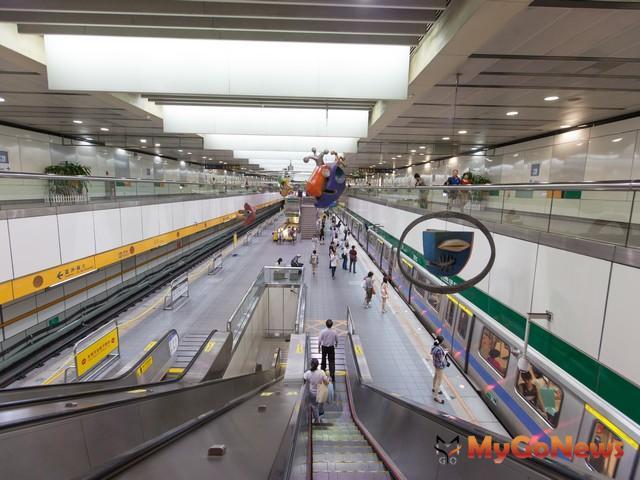 環狀線的第一階段規劃,總共就串連了10條交通動線,預計在2015年底完工。