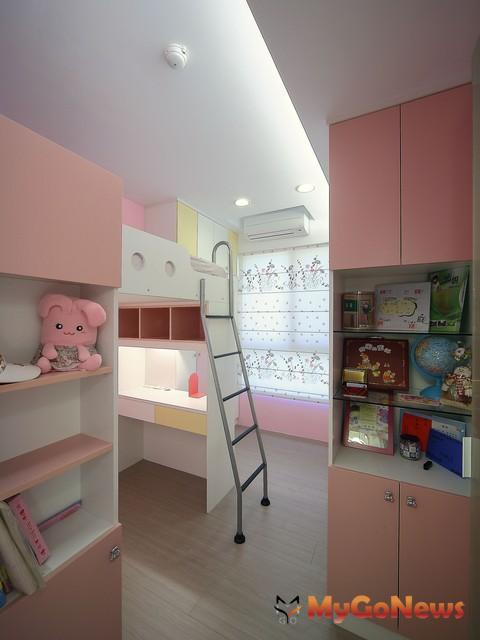最愛改造第3名:適合不同年齡的兒童房(圖:永慶房產集團居家服務中心)