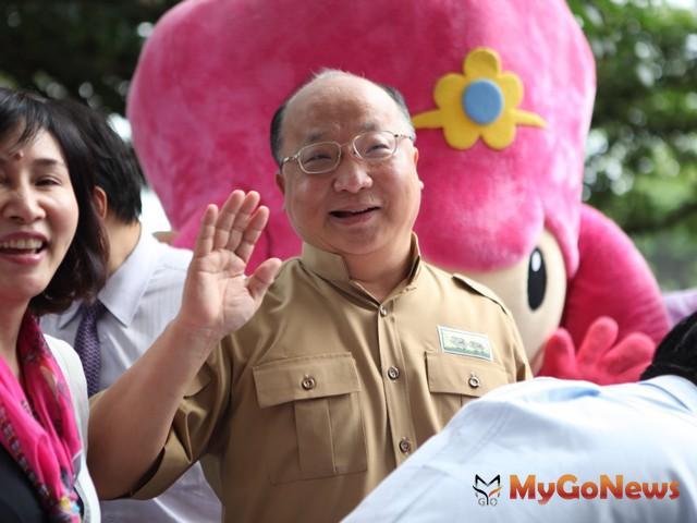 市長胡志強表示,非常歡迎好萊塢的電影公司來台中拍片
