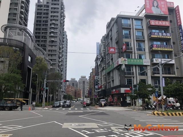 關埔重劃區街景(圖:台慶不動產)